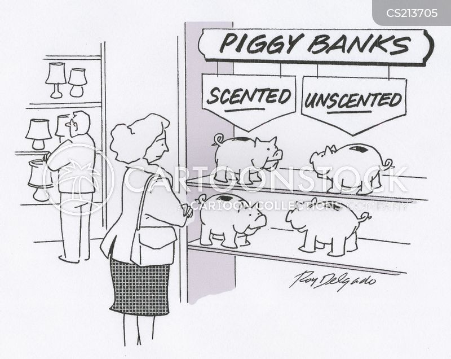 saves up cartoon