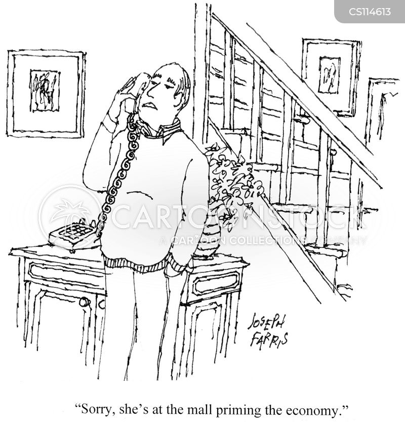 economic crisis cartoon