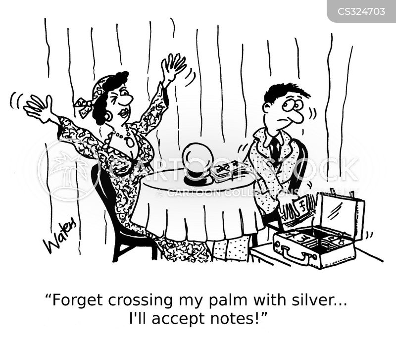 palmist cartoon
