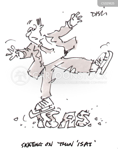 riskiness cartoon