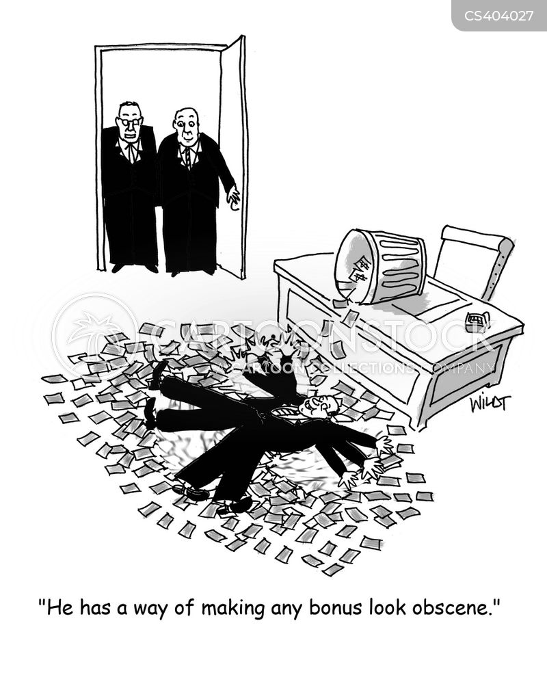 obscenity cartoon