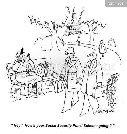 ponzi cartoon
