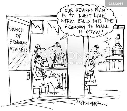 economic advice cartoon