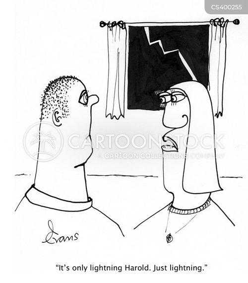 panicky cartoon