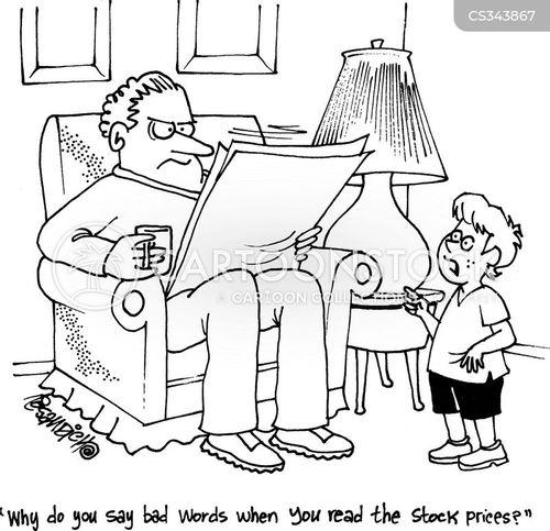 bad words cartoon