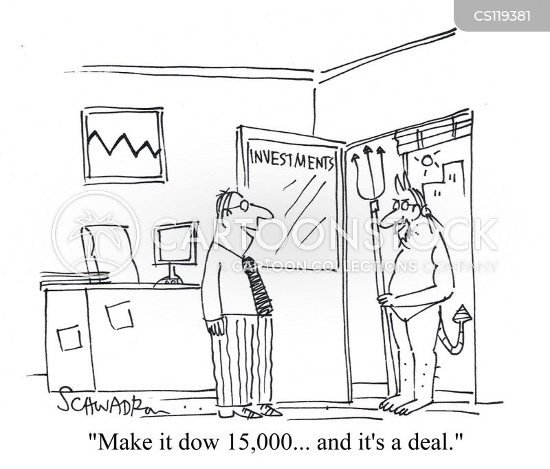 deal with the devil cartoon