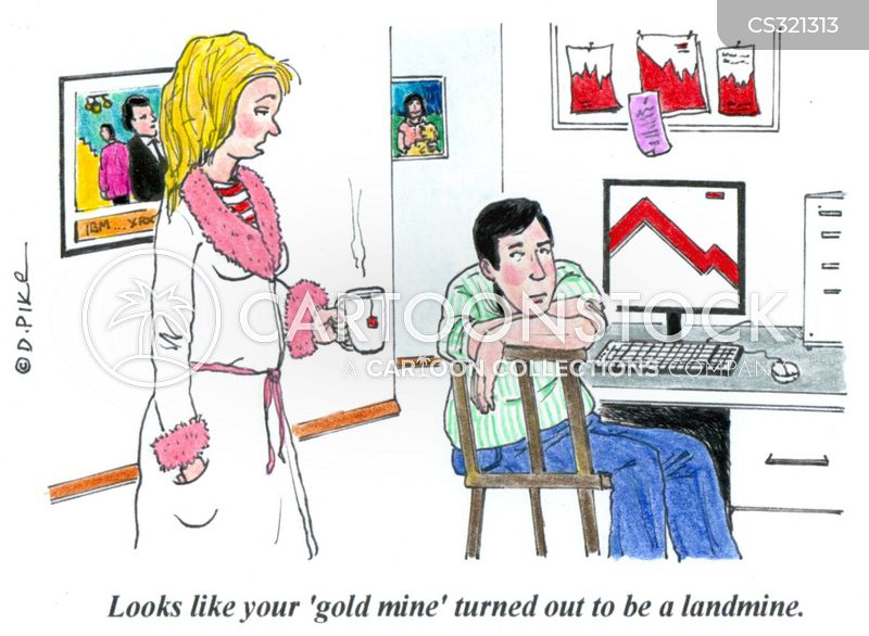 landmines cartoon
