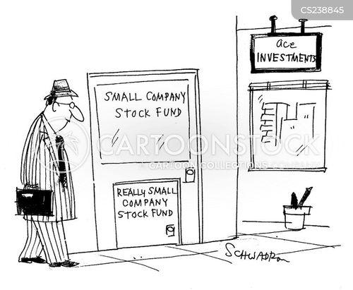 stock funds cartoon