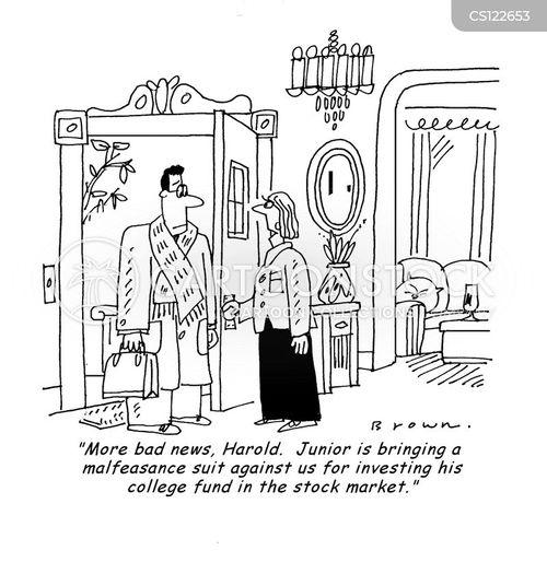 trust fund cartoon