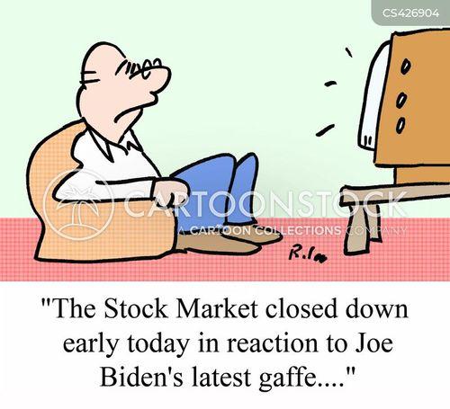 gaffe cartoon