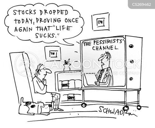 financial markets cartoon