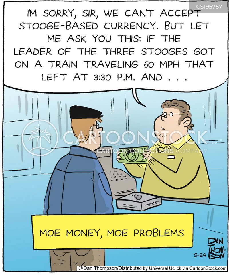 math problems cartoon