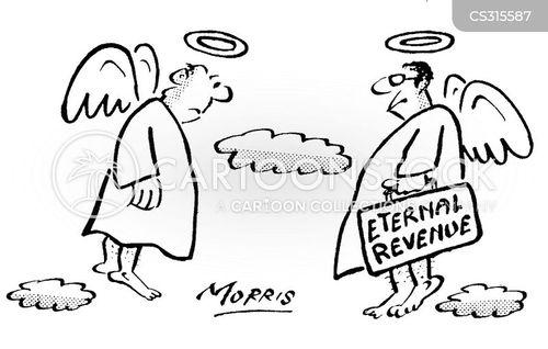 eternal revenue cartoon