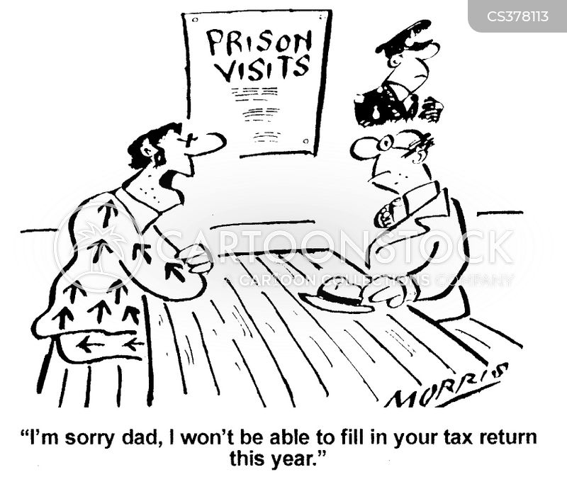 tax charges cartoon
