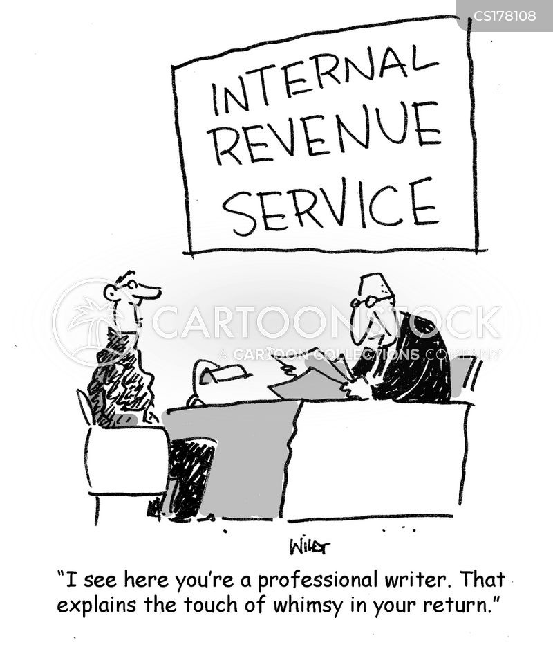 Internal Revenue Cartoons and Comics - funny pictures from CartoonStock