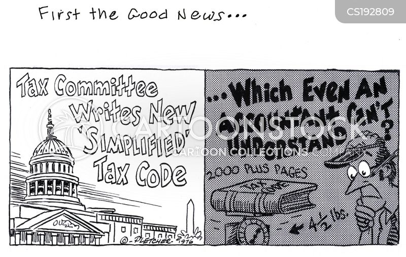tax code cartoon