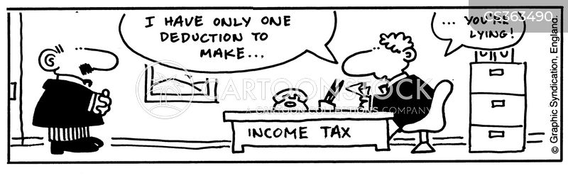 deducted cartoon