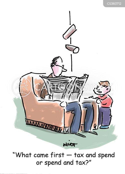 tax systems cartoon