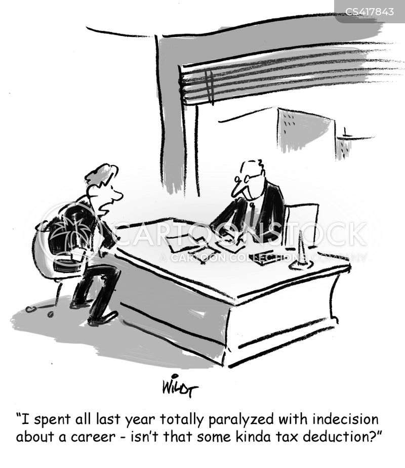 career prospect cartoon