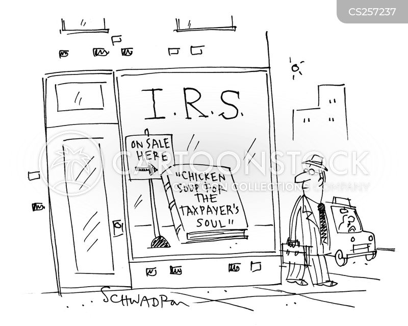 tax relief cartoon