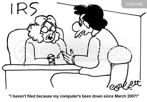 filed cartoon