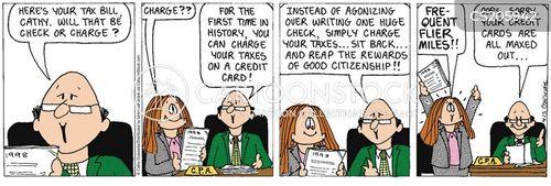 payment methods cartoon
