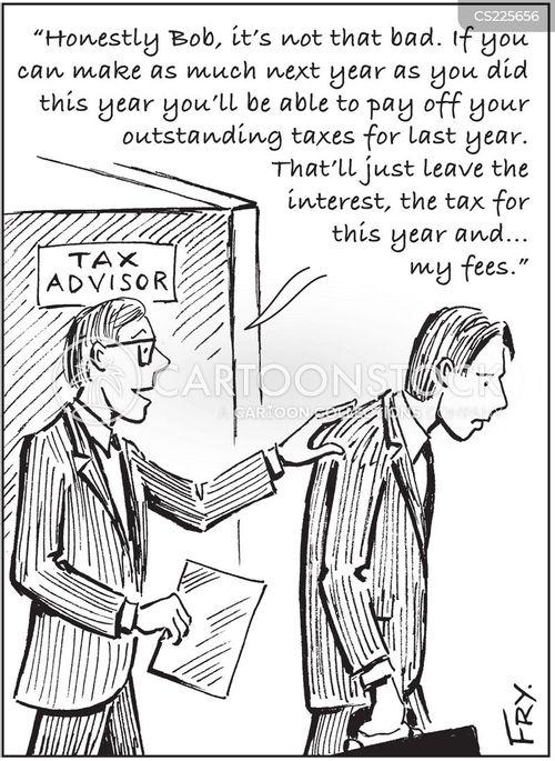 tax advice cartoon