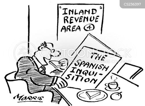 inquisitions cartoon