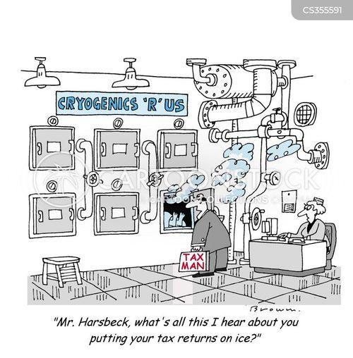cryogenic cartoon