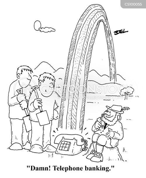 teleworking cartoon
