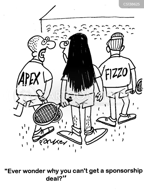 sponsorship deals cartoon