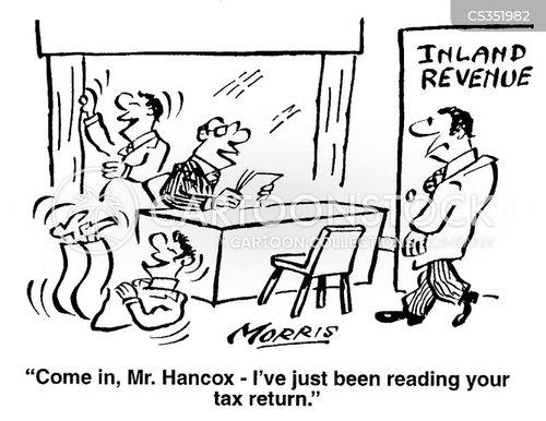 ridiculing cartoon