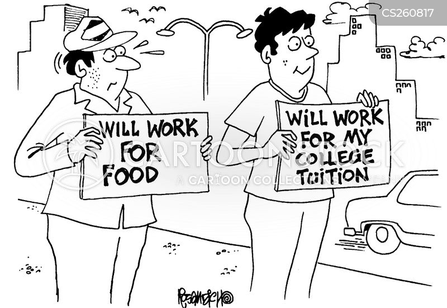 undergraduate cartoon