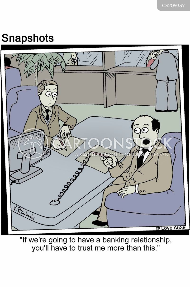 business relationship cartoon
