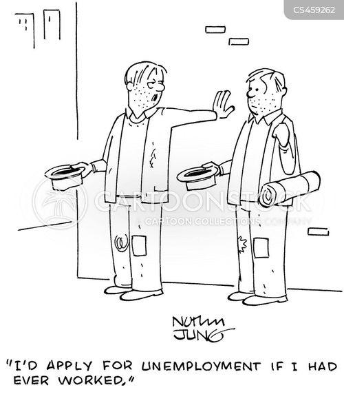 benefits system cartoon