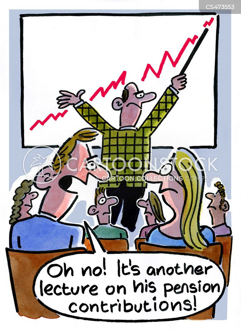 workplace pensions cartoon