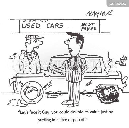 second-hand cartoon