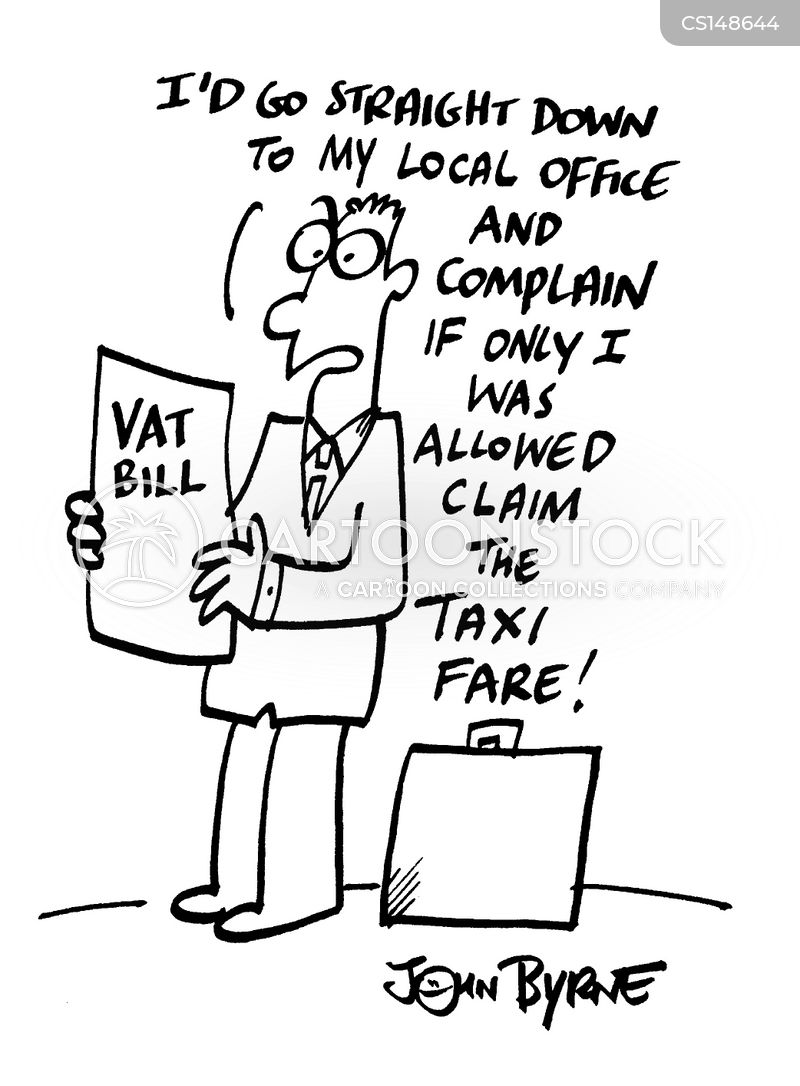 value added tax cartoon