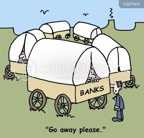 finance sectors cartoon