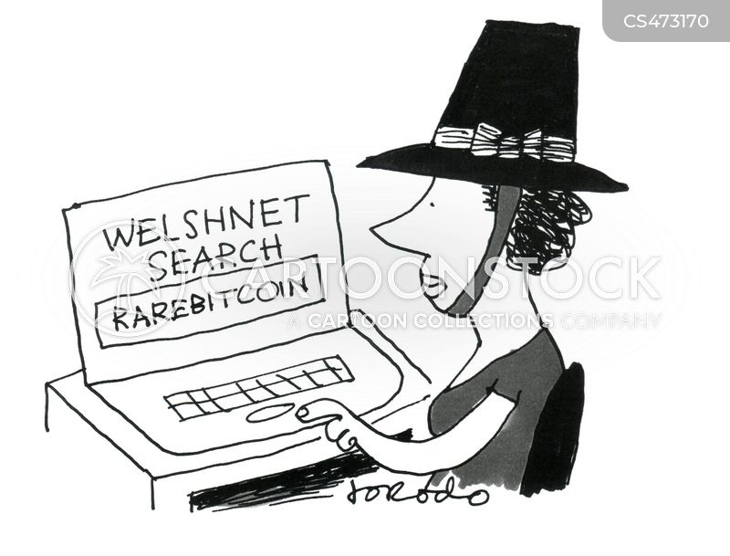 welsh cuisines cartoon