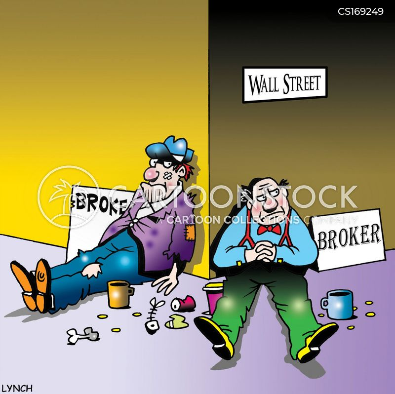 downturn cartoon