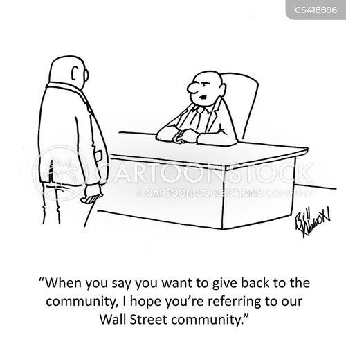 community spirits cartoon