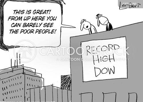 equity markets cartoon