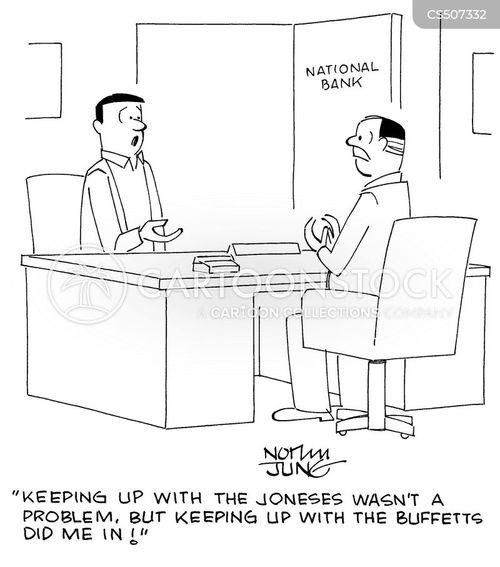 warren buffet cartoon