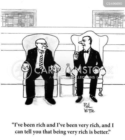 economic divide cartoon