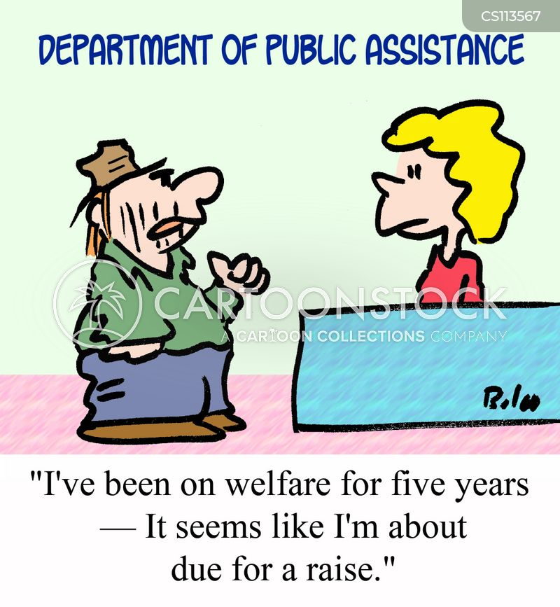 welfare cartoon