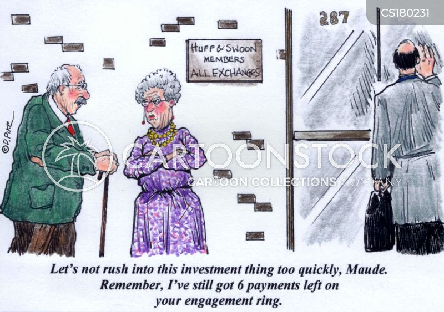 personal finance cartoon