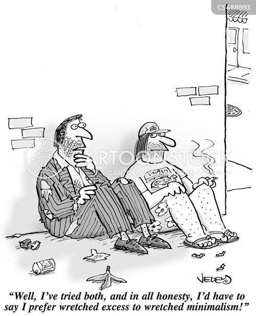 conspicuous cartoon