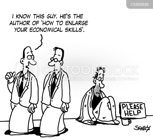 economic skills cartoon