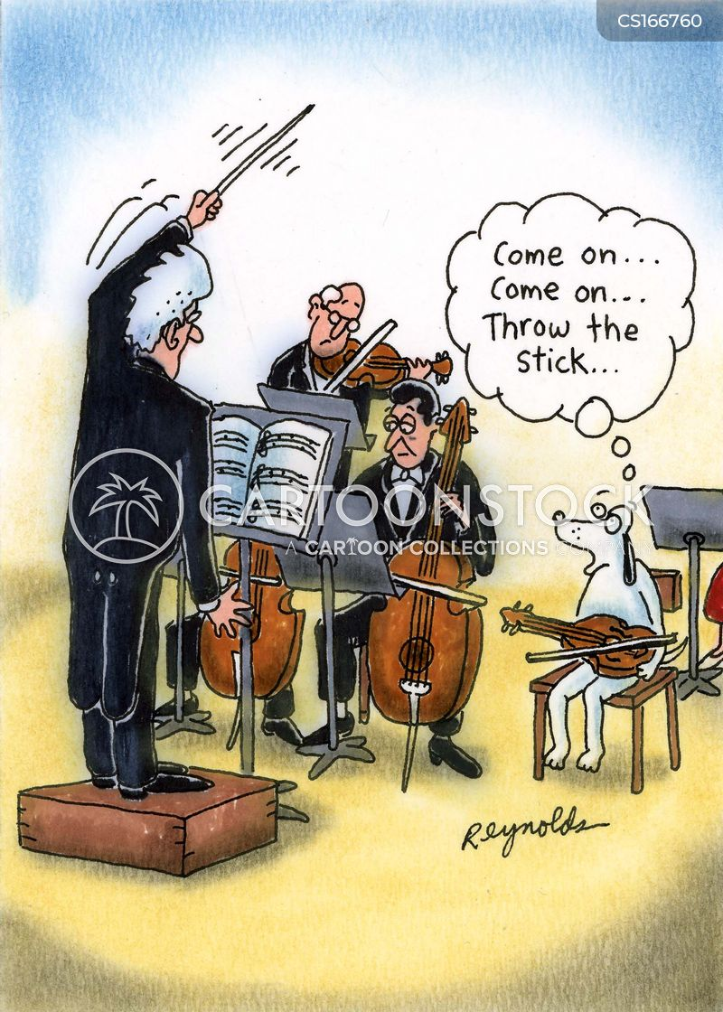 instrument cartoon